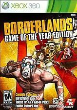 Xbox 360 : Borderlands Game of the Year VideoGames