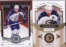 15-16 Artifacts Blake Wheeler /999 Winnipeg Jets 2015