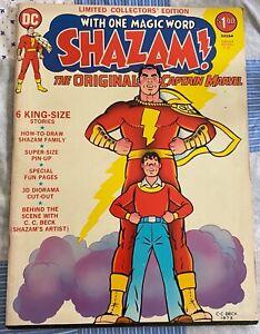 Collectors Edition Shazam! #21 Summer 1973