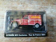 CITROEN 2CV cochonou TOUR DE FRANCE 2001  1/43 NOREV