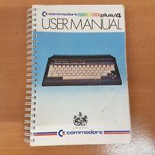 Vintage Commodore Plus/4 User Manual 1984
