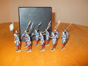 Mignot French Guards toy soldiers