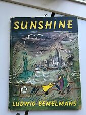Sunshine By Ludwig Bemelmans 1st Edition 1950