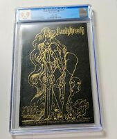 CGC 9.9 Lady Death in Lingerie #1   Leather Edition Gold Foil 1 of 10,000