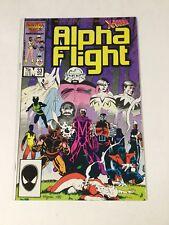 Alpha Flight 33 Nm Near Mint First Lady Deathstrike Marvel Copper Age