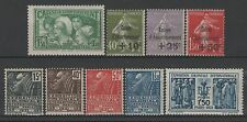 FRANCE ANNEE COMPLETE 1931 YVERT 269 / 277 , 9 TIMBRES NEUFS xx TTB   M789F