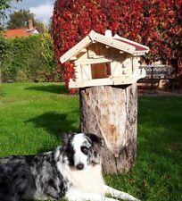 Vogelhaus, Luxus Vogelhaus ,Holz, Handarbeit, Blockhausstil
