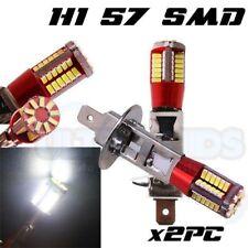 x2 H1 57 SMD HEADLIGHT DRL LED 3014 SUPER BRIGHT WHITE 6000K BULBS UK STOCK