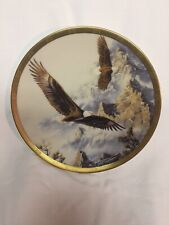 Lenox Decorative Plate – Soaring the Peaks by Kelley 1993 from the Eagle Conserv