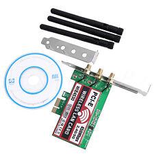 Desktop 450M Dual Band LAN Wifi Wireless PCI-e 1X Wlan adapter