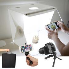 "16"" Folded Studio Lighting Cube Shooting LED Light Tent Photography Backdrop Kit"