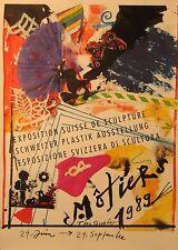 Original Plakat - Schweizer Plastik Ausstellung, Tinguely Jean