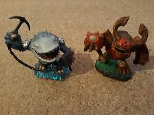 Skylanders – Giant Tree Rex and Thumpback – Figures Characters - Pre Owned