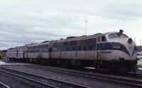 MTA Railroad Locomotive FL-9 RENSSELAER NY Original 1983 Photo Slide
