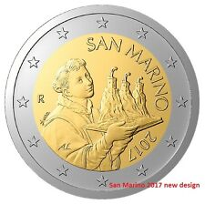 IN STOCK - SAN MARINO 2 Euro 2017 coin - New national side