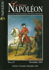 LA REVUE NAPOLEON N° 8 / OCTOBRE NOVEMBRE DECEMBRE 1801
