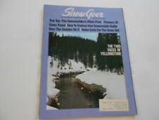 New ListingSnow Goer snowmobile magazine Jan. 1971 issue, factory racing teams