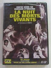 DVD LA NUIT DES MORTS VIVANTS - Duane JONES / Judith O'DEA - G. A ROMERO - NEUF
