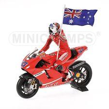 1:12 Minichamps Ducati Desmosedici Casey Stoner 2007 Philip Island Moto GP NEW