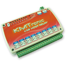 Arduino MEGA ADK compatible 8 Relay board with USB Host interface, Open source