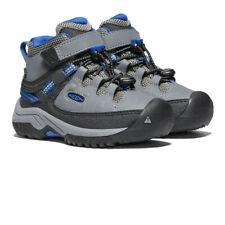 Keen Boys Targhee Mid Waterproof Walking Boots Grey Sports Outdoors Breathable
