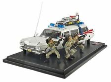 1959 Cadillac Ambulance Ghostbusters ELITE w FIGURES 1:18 Hot Wheels BLY25