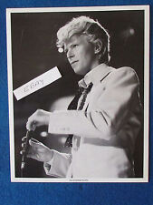 """Original Press Promo Photo - 10""""x8"""" - David Bowie - 1980's - Suit"""