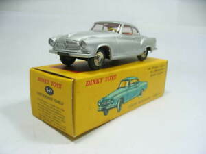 1/43 Dinky Toys ATLAS 549 Borgward Isabella silver
