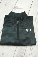 Under Armour Boy's ~ Nova Teal ~ Long Sleeve 1/4 Zip Shirt Sz 5