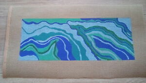 Hand Painted Colorful Needlepoint