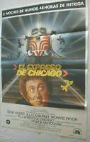 Filmplakat,Plakat, EL EXPRESSO DE CHICAGO,GENE WILDER,JILL CLAYBURGH,#108