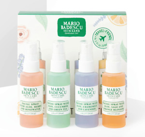 MARIO BADESCU The Mini Mist Collection - 4x Spray Rose Green Tea Lavender Orange