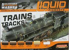Lifecolor acrylics liquide LC-LP05 pigment trains et rails set