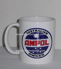 COFFEE MUG 11oz AMPOL AUSTRALIA RACING FORD HOLDEN CHRYSLER PETROL OIL GASOLINE