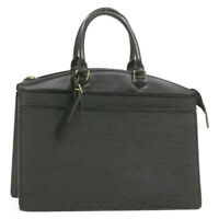 LOUIS VUITTON Epi Riviera Hand Bag Black M48182 LV Auth im002