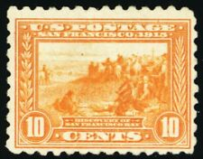 404, Mint OG 10¢ RARE Perforated 10 Stamp Cat $650.00 - Stuart Katz