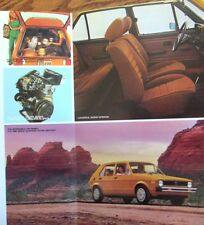 1978 VW Volkswagen Rabbit Folder Brochure- MINT!