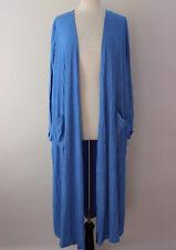 M - Medium LuLaRoe Sarah Beautiful Heathered Blue Soft Duster Cardigan NWT