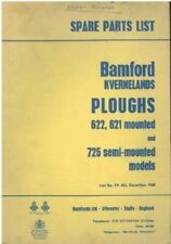 BAMFORD KVERNELAND 621 & 622 MOUNTED & 725 SEMI-MOUNTED PLOUGH PARTS MANUAL