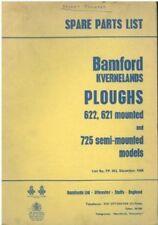 BAMFORD KVERNELAND 621 & 622 MONTATO & 725 semi-mounted ARATRO parti manuale