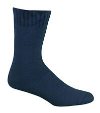 Bamboo Textiles Extra Thick Socks Mens 6 -10 Womens 8-11 Navy