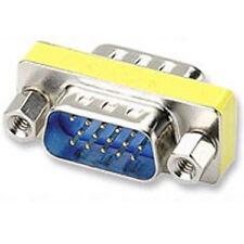 15pin VGA Gender Changer Adaptor Male to M dsub 15 pin