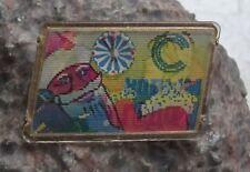 Soviet Union Santa Claus Christmas Russia 3D Flicker Wiggle Lenticular Pin Badge