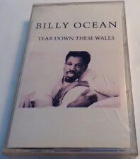 BILLY OCEAN Tape Cassette TEAR DOWN THESE WALLS 1988 Zomba Jive Canada JC-8495