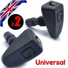 Universal UK Car Front Washer Sprayer Jet Sprinkler Windscreen Wiper Nozzle