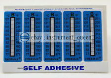 TMC 10 strips THERMAX Temperature Label 10 Level Range B 77-127°C/171-261℉