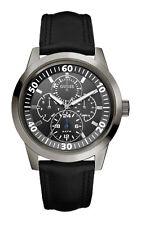 GUESS W10584G1 NEWPORT Herrenuhr Lederband schwarz