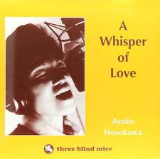 Ayako Hosokawa A Whisper of Love 180g LP- Vinyl NEW