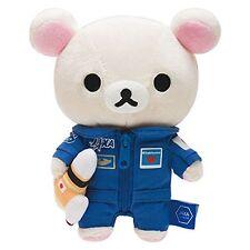New! Japan Rilakkuma stuffed Korilakkuma Bear Plush San-X Jaxa Collaboration