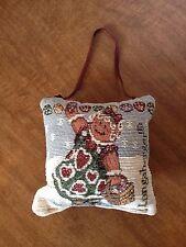 Longaberger Ginger Doorknob Pillow - Free Ship